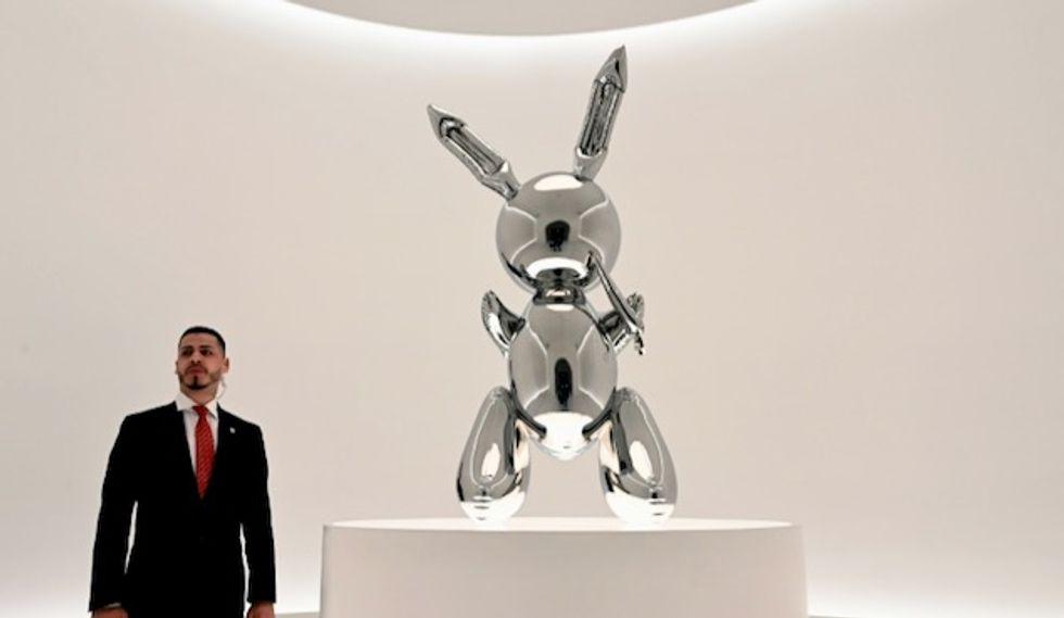 Jeff Koons work sells for $91.1 million, record for living artist