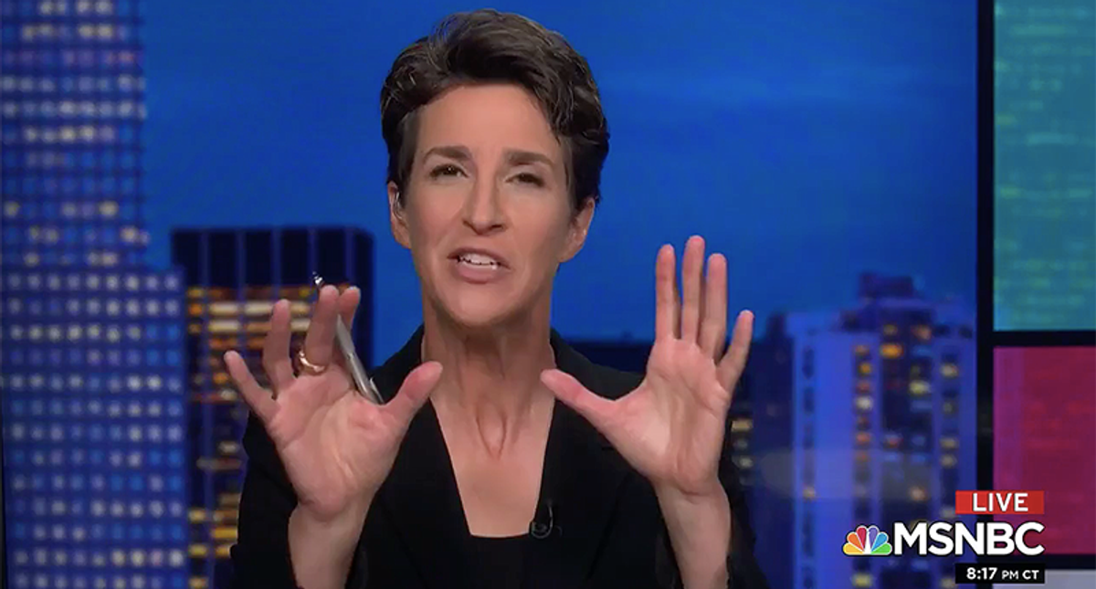 Rachel Maddow: The GOP is a complete dumpster fire and Democrats are just trying to govern