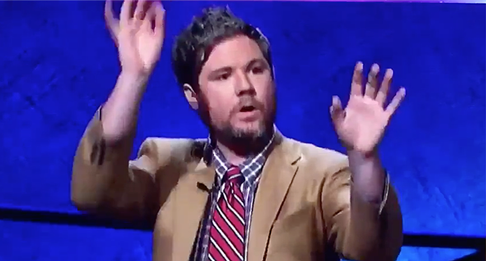 Goofy champion Austin Rogers loses Jeopardy but wins the Internet after he gets Trebek to say 'dick tree'