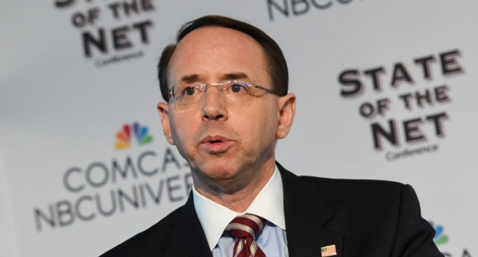Someone in the White House is trying to destroy Rosenstein or distract from the Kavanaugh scandal -- or both