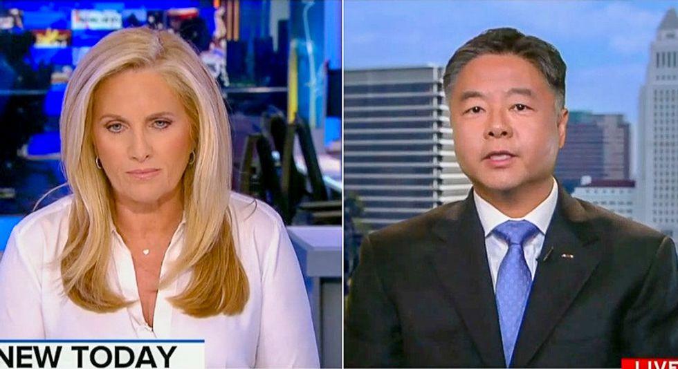 WATCH: Ted Lieu calls Trump a 'racist ass' on live TV