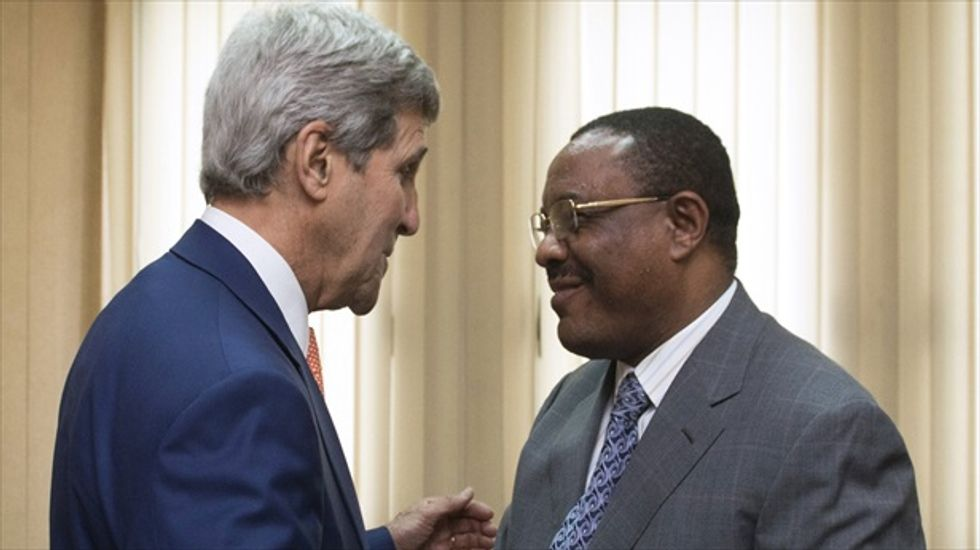 John Kerry voices concern to Ethiopia's PM over detained bloggers and journalists