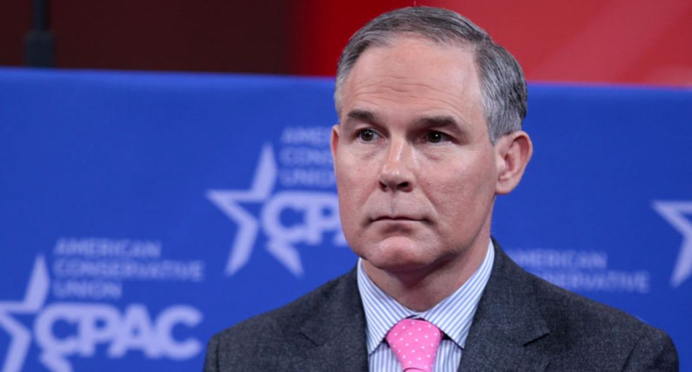 US EPA chief Scott Pruitt asked for 24/7 security from day one of taking office: watchdog