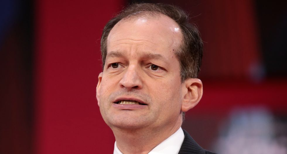 WATCH LIVE: Trump's embattled Labor Secretary Alex Acosta holds press conference