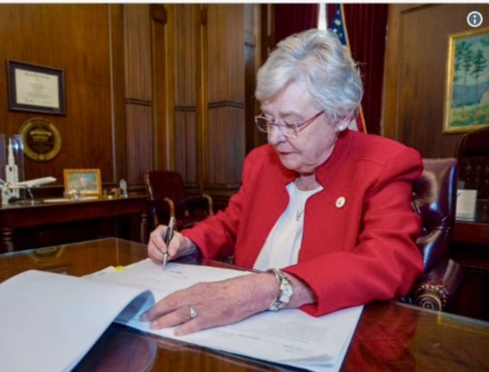 'A return...to the dark ages': Alabama's controversial chemical castration bill signed into law