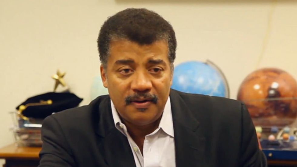 Watch Neil deGrasse Tyson explain the meaning of life to a curious 6-year-old