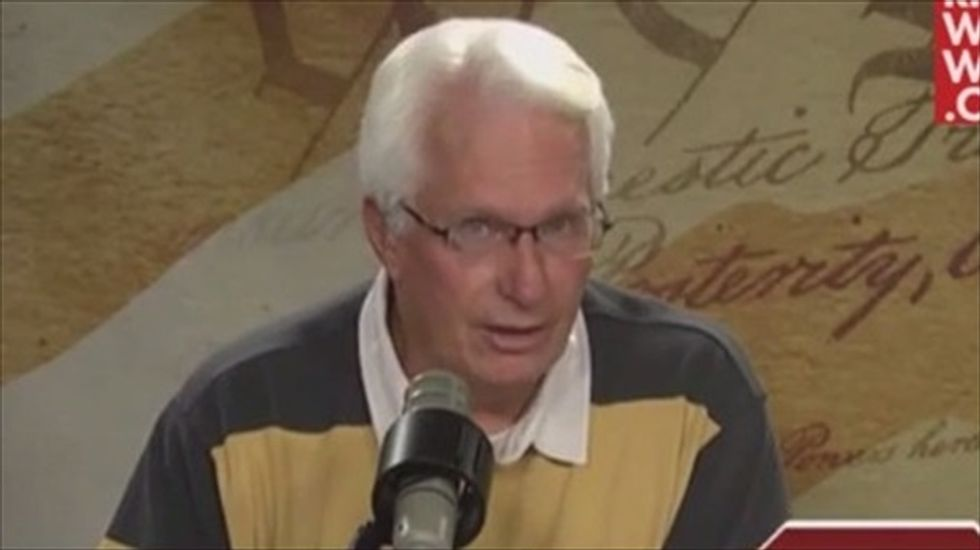Bryan Fischer and caller debate whether Obama has physical or 'spiritual' leprosy