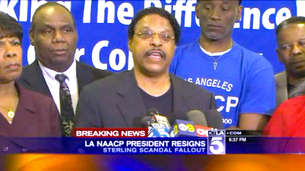 Los Angeles NAACP head Leon Jenkins resigns in furor over Clippers' owner's racist rant