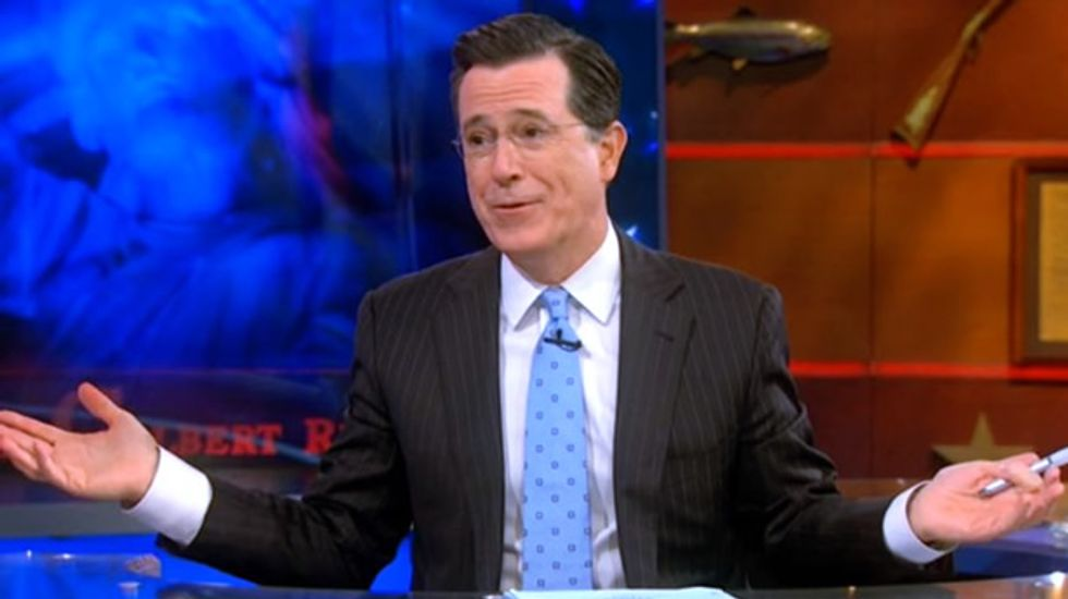 Stephen Colbert mercilessly mocks 'O'Reilly Factor' for rigging 'youth outreach' segment