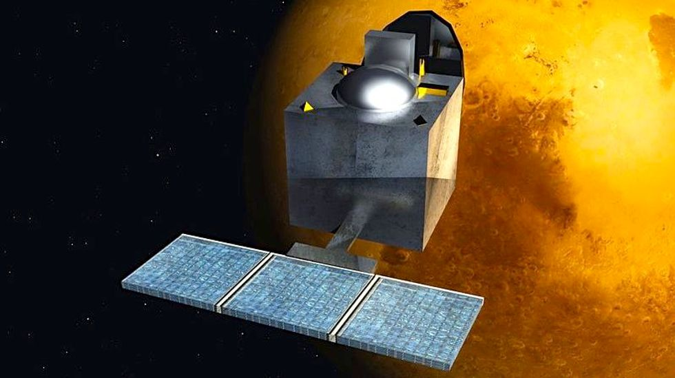 India's pioneering space probe is halfway to Mars -- on a shoestring budget