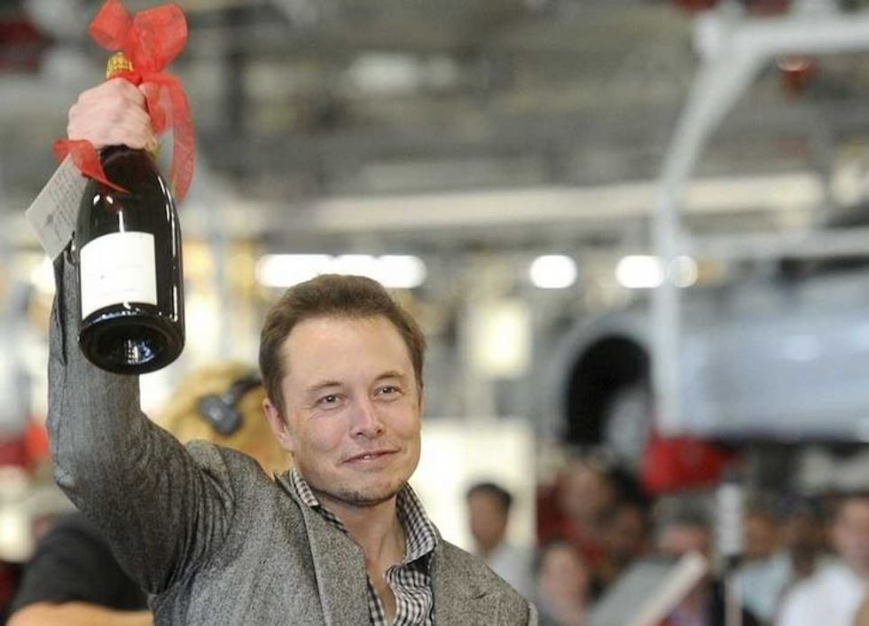 Elon Musk returned all but $1 of his $70,000 salary last year