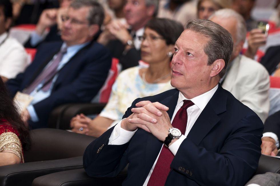 Al Gore on corruption in politics and media