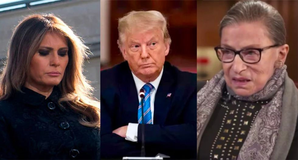 Trump would 'personally kill Ruth Bader Ginsburg' and 'feed Melania to dogs' to save his presidency: Rick Wilson