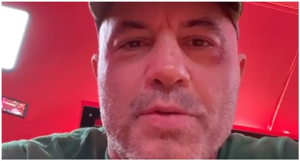 WATCH: Joe Rogan apologizes for claiming 'left-wing people' were to blame for starting West Coast wildfires