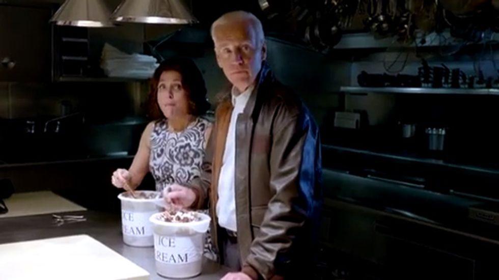 Watch: Veep Joe Biden goes on road trip with Veep Selina Meyers in hilarious WHCA video