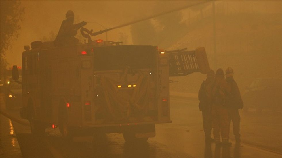 Federal firefighting budget reportedly $470 million short of requirement