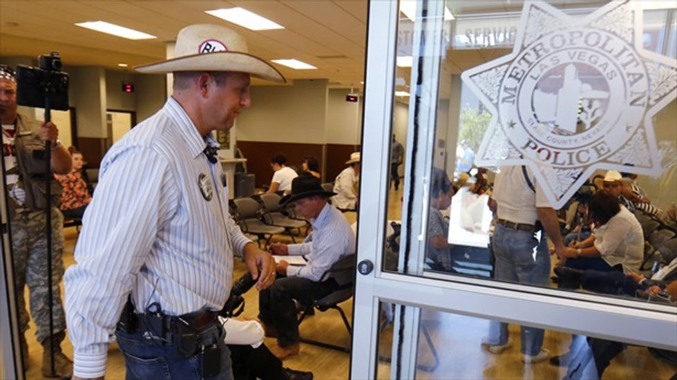 Cliven Bundy's son files lawsuit accusing federal officials of assault
