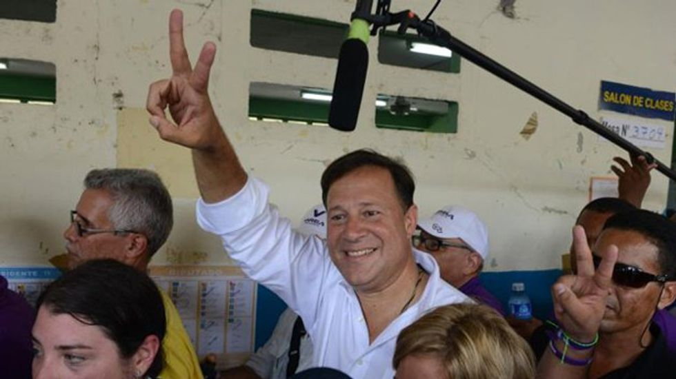 Opposition party candidate Varela wins Panama presidency