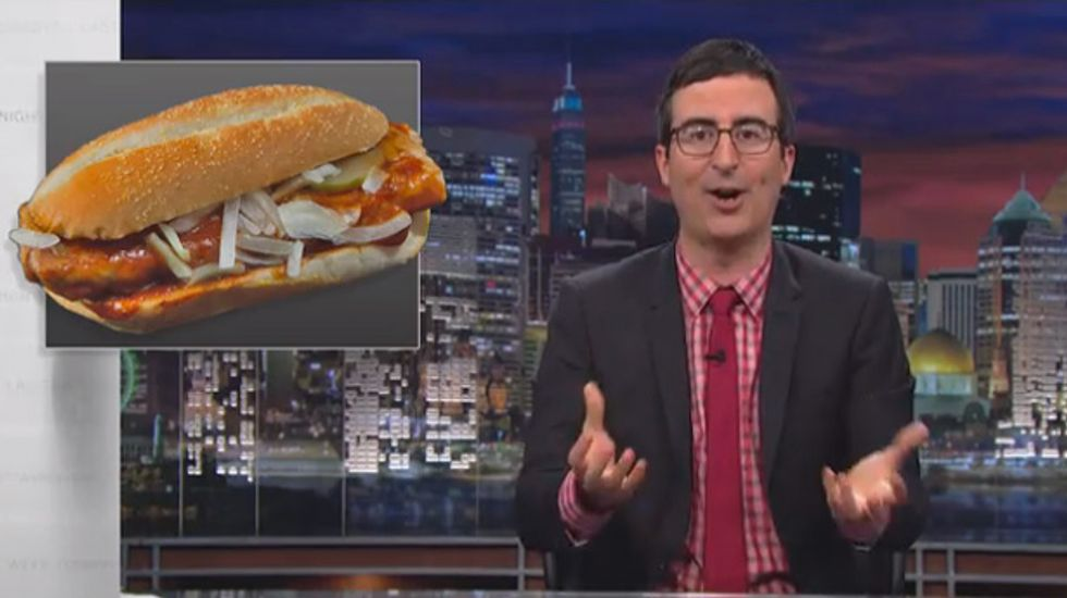 John Oliver: Death penalty, like the McRib, is 'tantalizing' yet 'epically wrong'