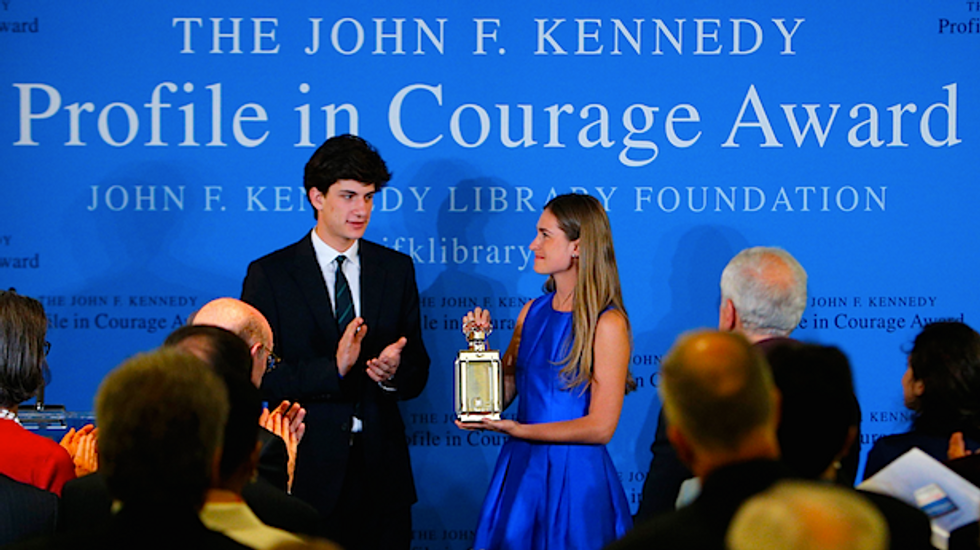 George H.W. Bush honored by JFK Foundation for 'courage' with 1990 tax hikes
