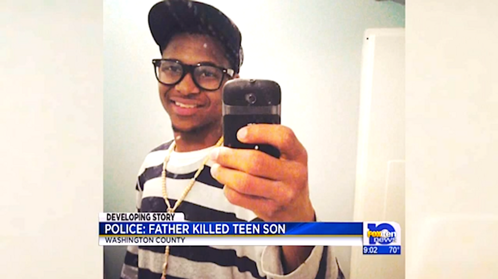 Alabama man accidentally kills teen son while trying to scare boy during bizarre outburst
