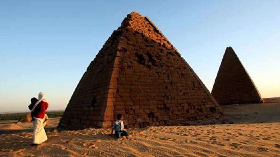 Archaeologists hunt for ancient pyramids and temples in Sudan