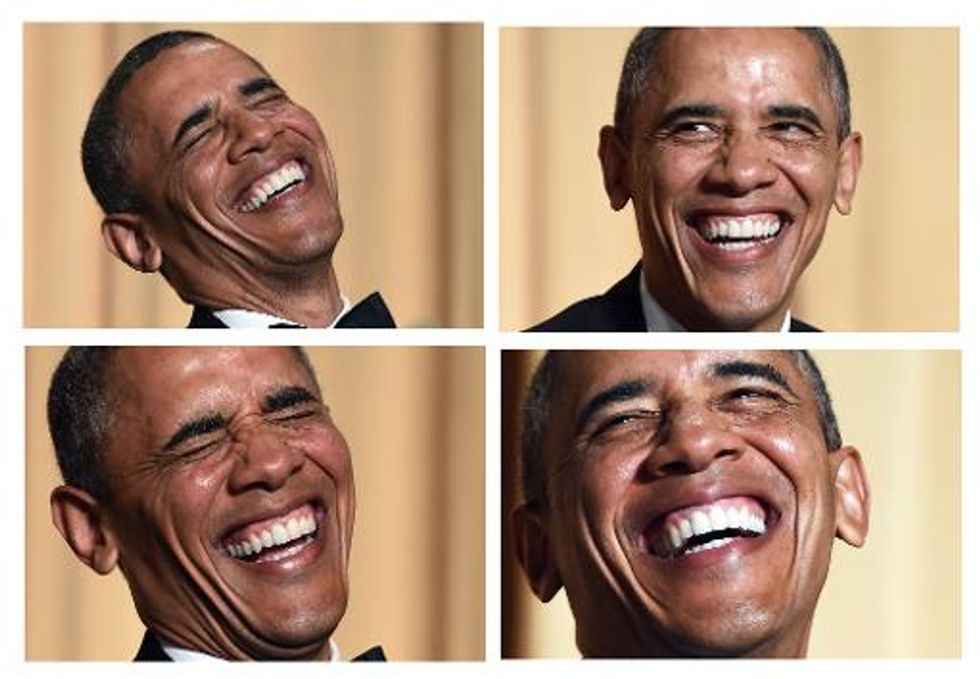 Obama at WHCD: Fox will have a hard time convincing Americans 'that Hillary was born in Kenya'