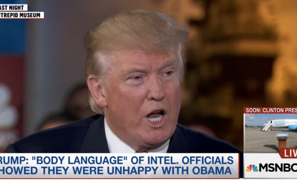 'This is unprecedented': Intelligence officials scorch Trump for blabbing about classified briefing