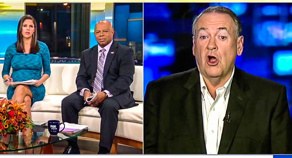 'I can't recall': Mike Huckabee suddenly doesn't remember Trump 'p*ssy grabbing' tape after Weinstein