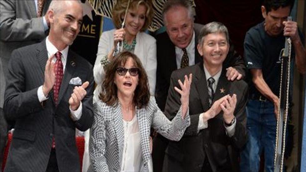 Oscar-winner Sally Field gets star on Hollywood Walk of Fame