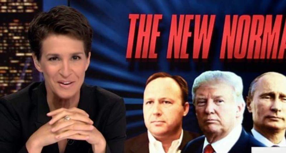 Rachel Maddow debunks Trump's ego trip: Putin called him 'flamboyant' — not 'brilliant'