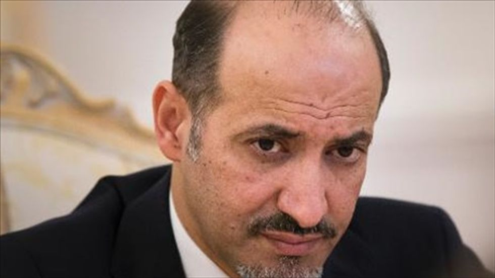 U.S. grants diplomatic status to Syrian opposition party