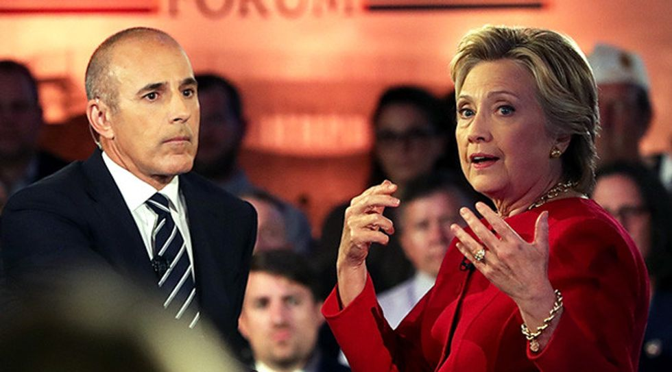 The 8 most blistering criticisms of Matt Lauer's abysmal job moderating NBC's 'Commander-in-Chief' forum