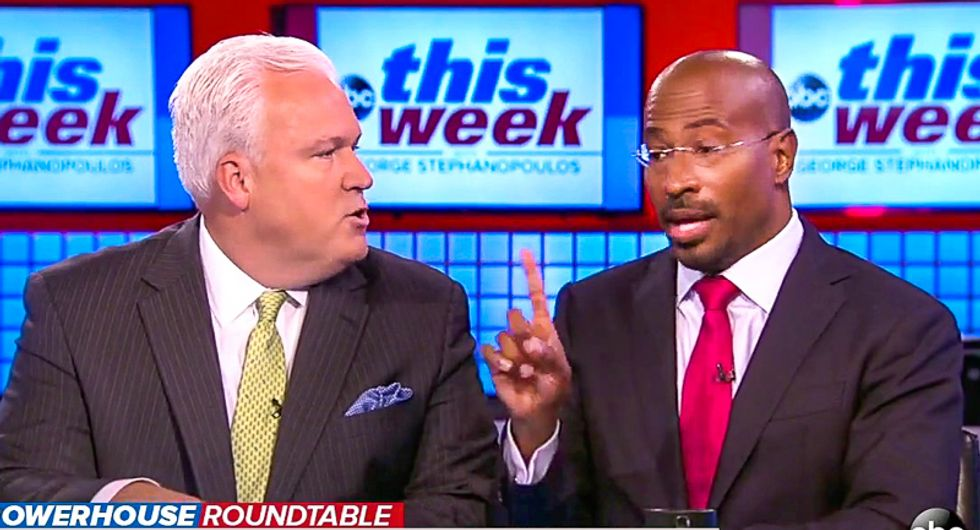 'We are so into the crazy': Van Jones smacks down GOPer who claims Trump can pass agenda while 'sowing chaos'