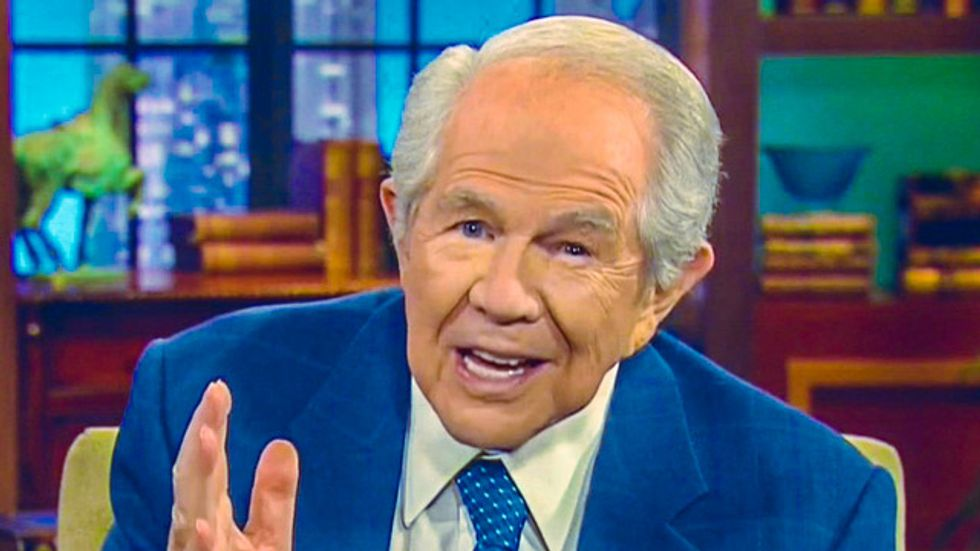 Pat Robertson berates woman for ungodly husband: You have 'the discernment of a slug'