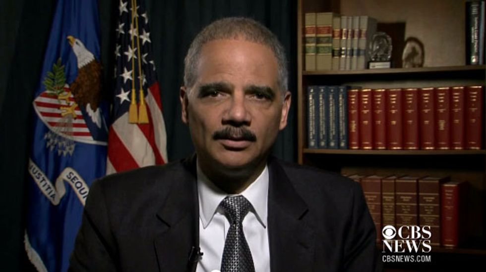 Attorney General Eric Holder: No bank is above the law or too big to jail
