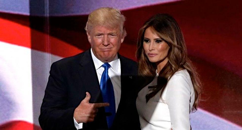 GOP prepares to nominate Trump despite uproar over wife's plagiarized speech