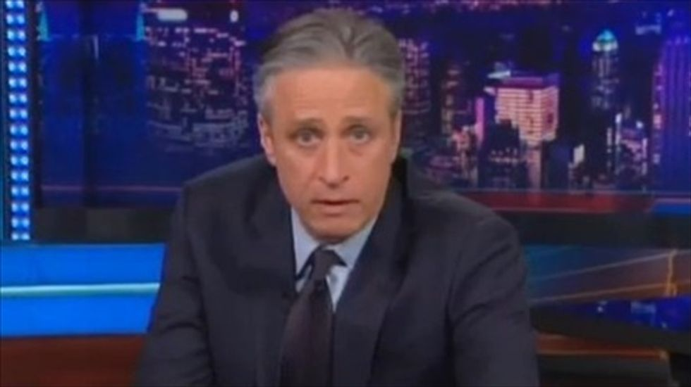 Jon Stewart rips GOP and Fox: Where was your 'outrage and sanctimony' over Iraq?