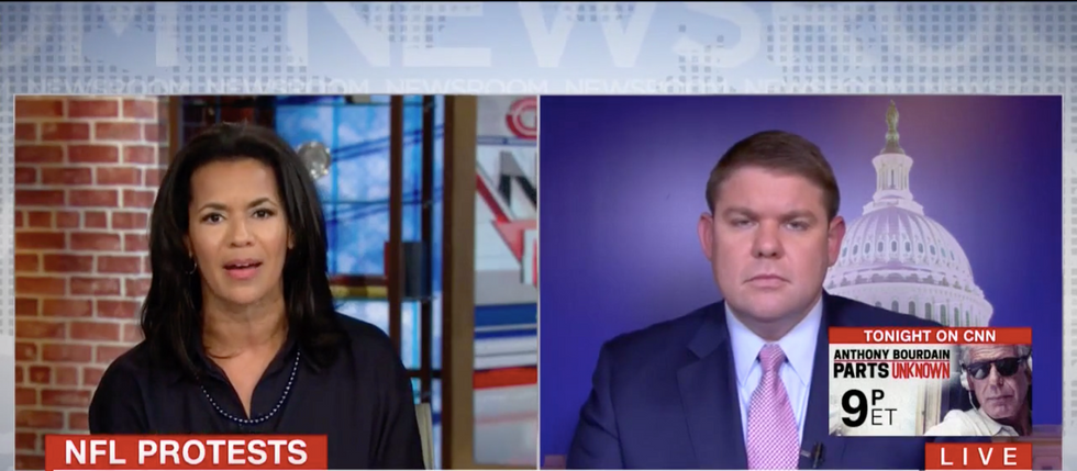 White conservative gets stomped for lecturing black CNN guests on how to protest racial injustice