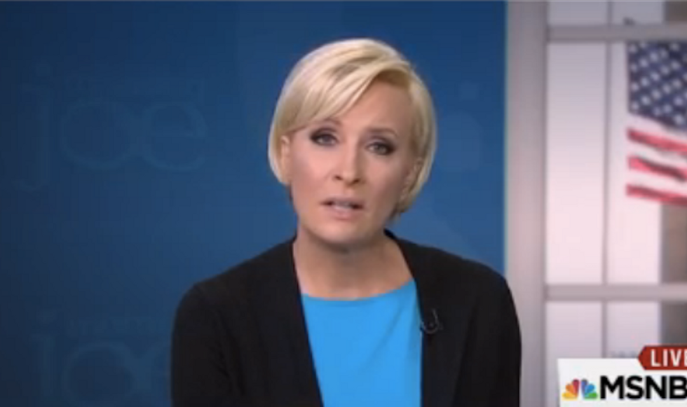 Watch as Mika Brzezinski finally hits her breaking point with Trump's lies: 'It's not funny' anymore