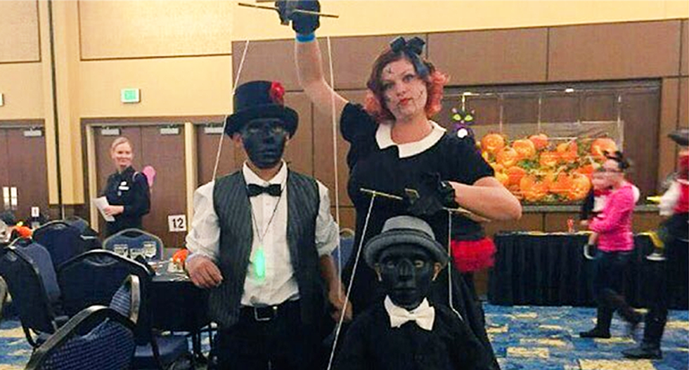 Fort Bragg busted for 'Spooktacular' Halloween party with children dressed up in blackface