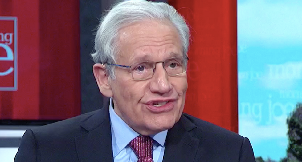 'We are living in an Orwellian world': Bob Woodward slams Trump for hiding the truth about COVID from Americans