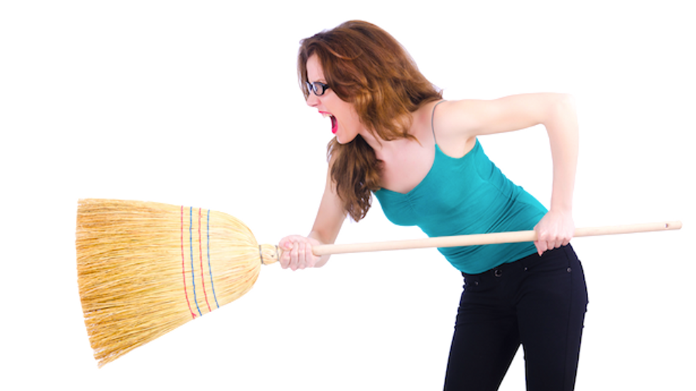 Detroit teacher fired after breaking up classroom brawl with broomstick