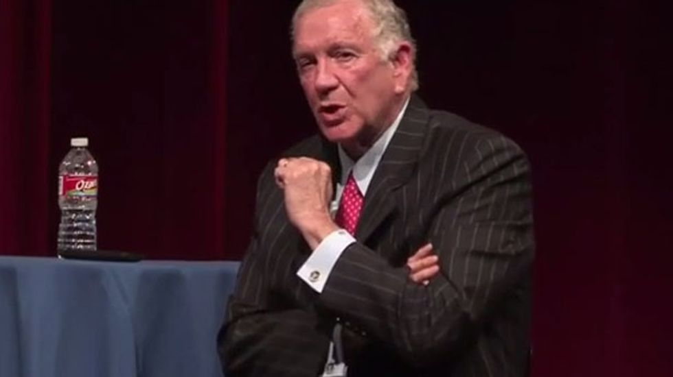 Houston Baptist University president compares gay people to alcoholics and arsonists