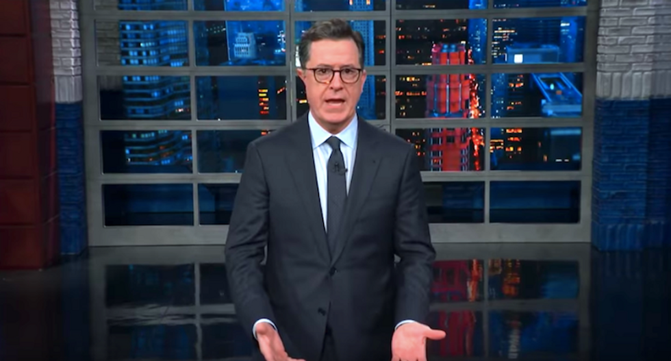 Stephen Colbert reveals the simple and sad reason why eulogies for George HW Bush sounded like attacks on Trump