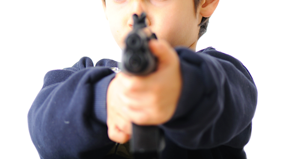 Kid shoots NJ police chief with officer's own gun while parents paying taxes