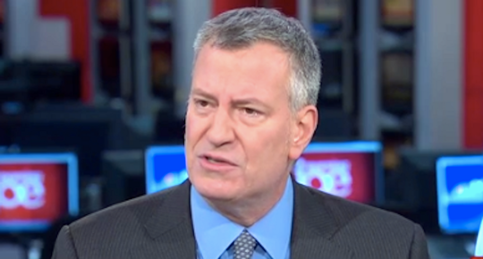 NYC mayor warns travel ban 'first step' toward Muslim registry: 'I don't say that out of paranoia'