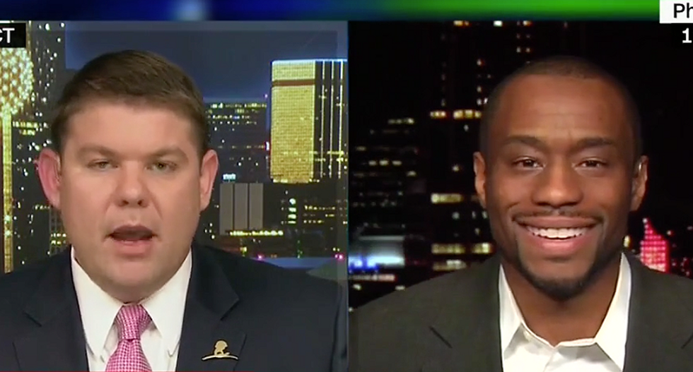 Marc Lamont Hill swiftly shuts down CNN conservative complaining he's 'over' NFL players 'ruining the game'