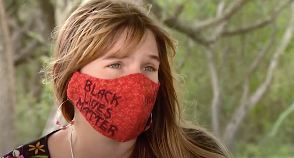 Texas teacher fired over Black Lives Matter masks