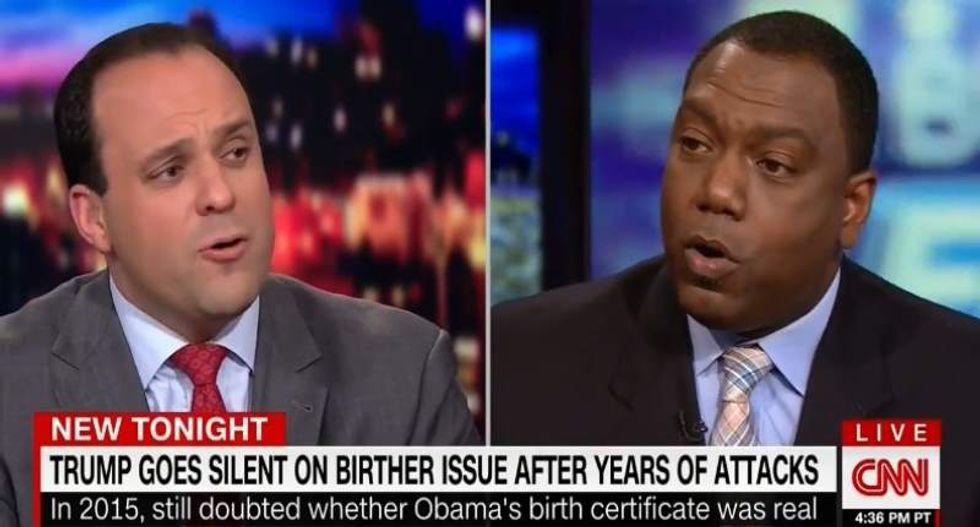 CNN guest rips Trump advisor: His birtherism makes your black outreach 'an abject failure'
